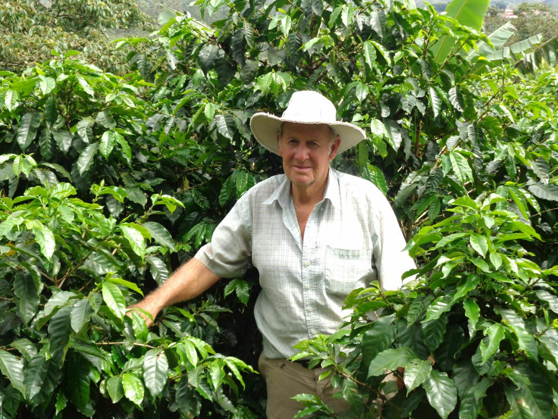 Photo of Costa Rica coffee farmer Carlos Fernández Morera